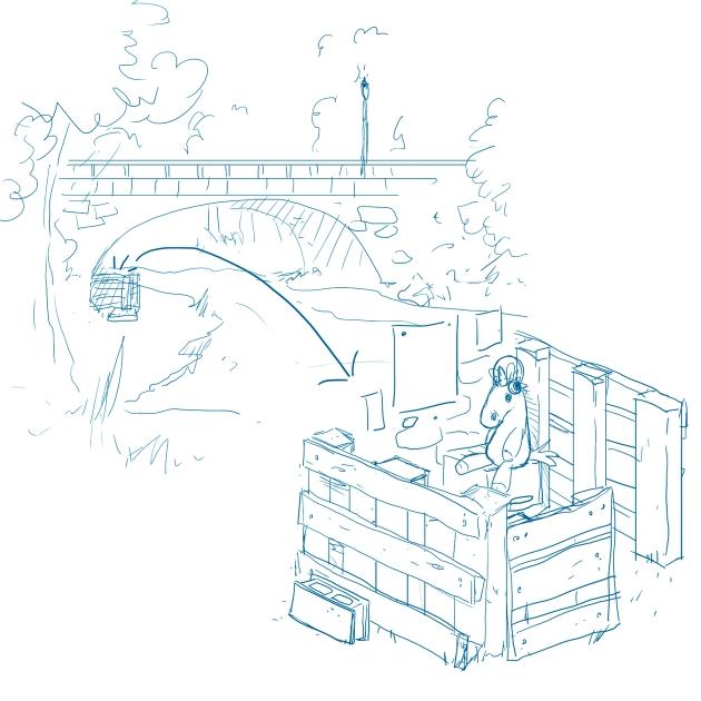 escenarios puente